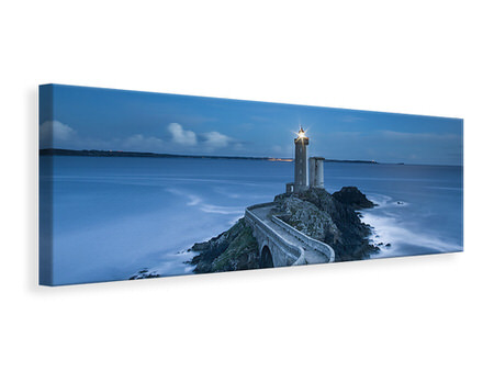 Panoramic Canvas Print The way to the lighthouse