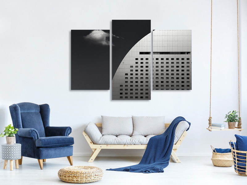 Modern 3 Piece Canvas Print Finite Collaboration