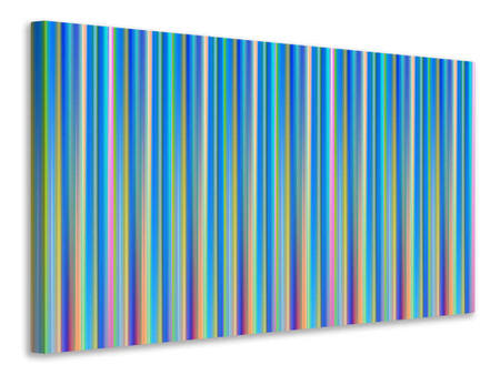 Canvas print Colored stripes