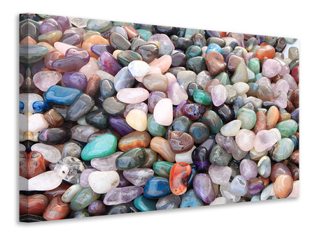 Canvas print Colorful gems