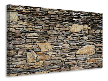Canvas print Stone construction art