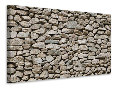 Canvas print Stone craft