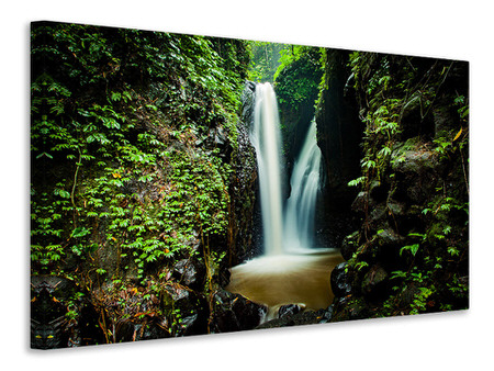 Canvas print 2 waterfalls