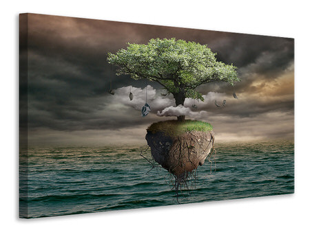 Tableau sur toile Lonely Tree