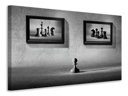Canvas print The Choice To Make