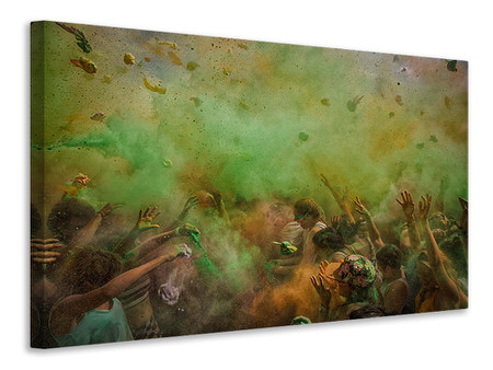 Canvas print Paint Fight