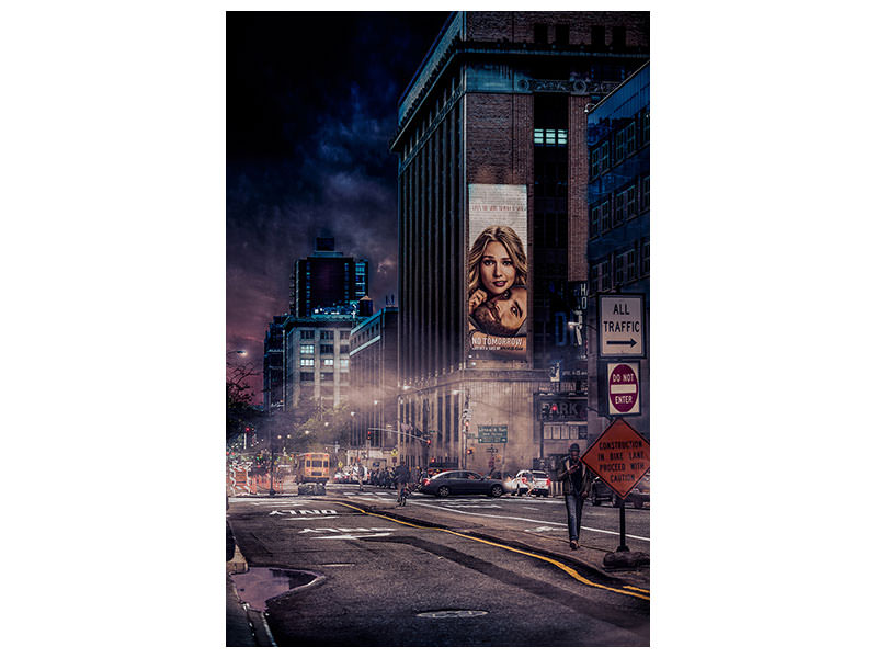 Canvas print Back To Gotham