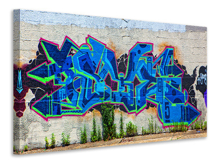 Canvas print Graffiti NYC