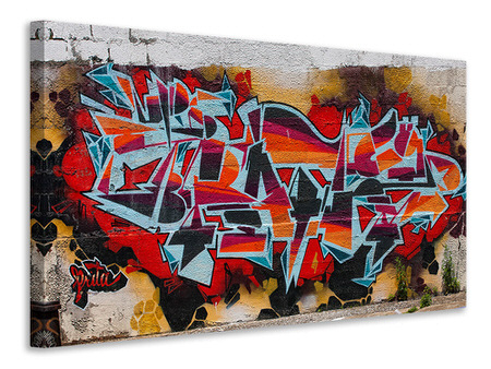 Canvas print New York Graffiti
