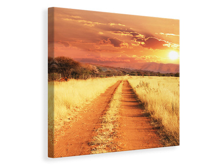 Canvas print Dusk In Kenya