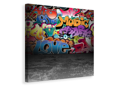 Canvas print Graffiti Writing