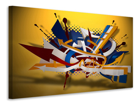 Canvas print Graffiti Art