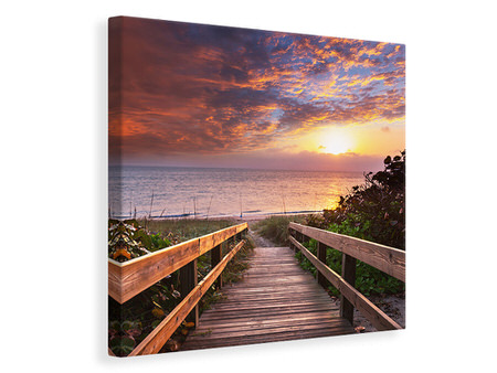 Canvas print Beautiful Sunset