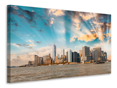 Canvas print New York, Skyline From The Other Side