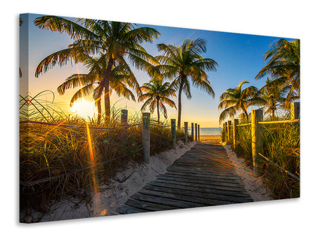 Canvas print The Beach House