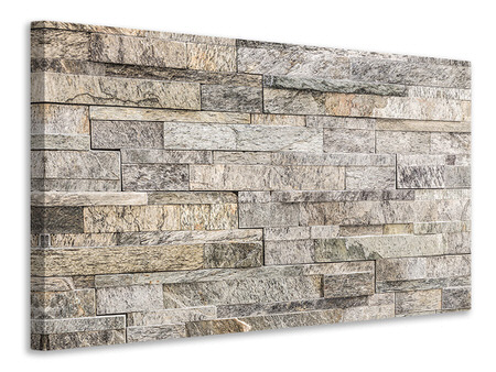 Canvas print Elegant Stone Wall