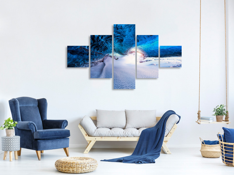 5 Piece Canvas Print Castan XVII