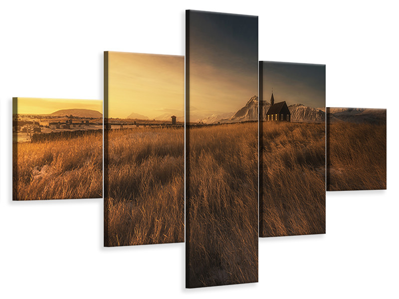 5 Piece Canvas Print Budir II